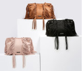 2017最も新しい冬デザインふさの女性のハンドバッグ