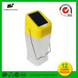 Lámpara solar solar portable de la iluminación de la linterna de la energía que acampa LED
