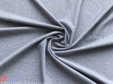 カチオンのジャカードポリエステル4衣服のための側面のスパンデックスの伸縮織物
