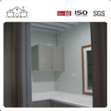 Casa prefabricada casera prefabricada ligera de lujo del chalet de la estructura de acero