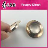 단화 금관 악기 로즈 금 둥근 작은 구멍
