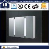 Gabinete do espelho do diodo emissor de luz do banheiro