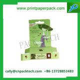 Empaquetado cosmético de empaquetado modificado para requisitos particulares de Paepr del rectángulo del cepillo de lujo de la pestaña