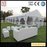 Tente blanche de noce de belle décoration de filé à vendre