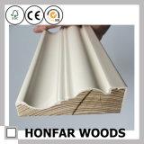 Placa de contorno de Sapele da madeira contínua para o material de construção