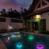 Indicatore luminoso solare della piscina del LED RGB con telecomando