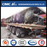 Cimc de Populaire Aanhangwagen van de Vrachtwagen van de Lading van de Staak van het Type Huajun in Afrika