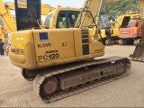 Excavador usado/indirectamente de KOMATSU PC120-6 para la construcción