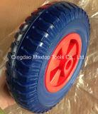 Колесо травокосилки пены PU Китая Qingdao плоское свободно