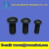 Zinco capo di BACCANO 603 del bullone del fungo/bullone di carrello placcato nero