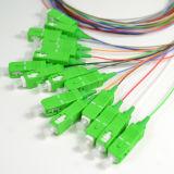 Sc APC 연결관을%s 가진 2개 x 32의 마이크로 컴퓨터 유형 광섬유 PLC 쪼개는 도구