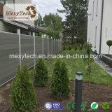 Moderne im Freien zusammengesetzte Zaun-Panels des Garten-Aluminium-WPC