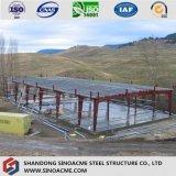 Il magazzino/workshop d'acciaio/blocco per grafici portale/hanno prefabbricato la costruzione
