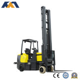 New Designed 2ton Electric Narrow Aisle Forklift Outdoor Warehousing Truck