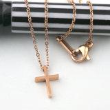 عالة مجوهرات نمو [ستينلسّ ستيل] [روس] نوع ذهب دينيّ صليب مدلّيات