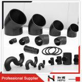 標準のポリエチレンの配水管の下水管の配管のプラスチック付属品