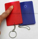 Свет автомобиля кредита подарков СИД промотирования с Keychain (3434)