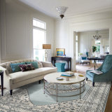 Diseñador moderno de la alfombra del área del estilo de la alfombra de la talla de la sala de estar del sofá del café de la cabecera de encargo americana persa del dormitorio preferido