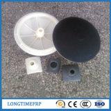 Kugelförmige schwarze transparente EPDM Luft-Diffuser- (Zerstäuber)gummibelüftungsanlage