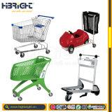 El múltiplo de Highbright labra la carretilla de las compras del carro de compras