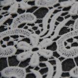 Tissu chimique de lacet de coton pour des vêtements