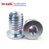 L'AG Buttom-A bridé les noix filetées de garniture intérieure d'acier inoxydable