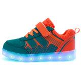 die Modi 7colors 11, die LED ändern, scherzt Schuhe mit USB-Aufladeeinheit