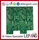 1.6mm 2 Schichten OSP Fr4 Sichtanzeigegerät-Leiterplatte Schaltkarte-