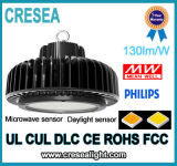 Luz del UFO Highbay del programa piloto 100W 150W 200W 240W LED de Philips 3030 LED Meanwell