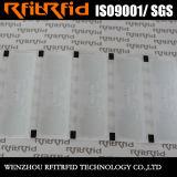付着力UHFのステッカーRFIDの札を反引き裂く優秀な品質