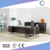 L moderno muebles de oficinas del escritorio de madera del vector de la dimensión de una variable