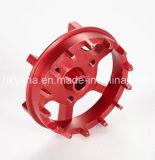 CNCの旋盤機械による精密アルミニウム回転部品