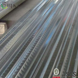 Feuille ondulée galvanisée de Decking d'étage en acier, matériaux de construction