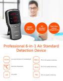 Équipement portable de test de gaz Formol Meter & Pm1 / Pm2.5 / Pm10 Detector