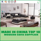 Top Selling Home Furniture Sofá de canto de couro