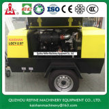 Compresor de aire remolcable del tornillo del mecanismo impulsor diesel de Kaishan Lgcy-2.5/7