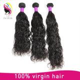 安いRemyの人間の毛髪の織り方のブラジルの自然な波もつれ無し取除くこと