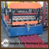 機械またはカラー鋼鉄屋根のパネルのタイルを形作るロールは機械を形作るか、または機械の作成を冷間圧延する