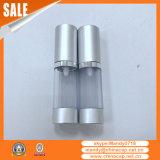 China-Zylinder bereifte luftlose Aluminiumsahne füllt 15g30g50g ab