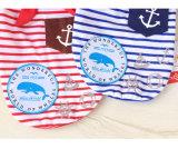 Pet Seaman Boucle en bois Foulard T-shirt à chien Vente en gros