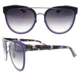 Les lunettes de soleil faites sur commande en gros de créateur de lunettes de soleil de logo ont polarisé des lunettes de soleil