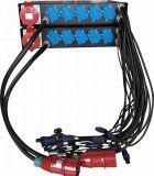 Zeile Reihen-Energien-Kasten für XLR Signal-Ausgabe