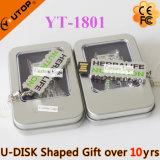 USB Shaped de encargo Pendrive de la carta/del carácter para el presente (YT-1800)