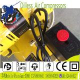 compresseur d'air portatif exempt d'huile de vis de 50L 2X550W Oilless