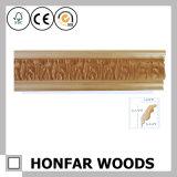 Parte superiore di legno di scultura antica di stile dell'Italia che modella per la decorazione domestica