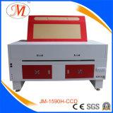 大きいワークテーブル(JM-1590H-CCD)が付いている広く利用された彫版機械
