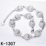 925 فضة سوار نمط مجوهرات مصنع [هوتسل]