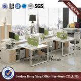 Partición de la oficina de la melamina del precio/sitio de trabajo inferiores (Hx-6m208)