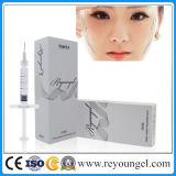 O melhor enchimento cutâneo Injectable do ácido hialurónico para a face