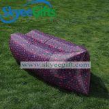 Großhandelszoll gedrucktes aufblasbares Luft-Sofa SchlafensLaybag